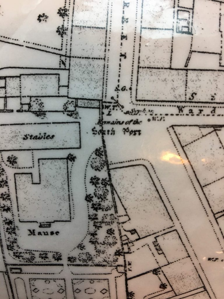 Detail Ordnance Survey map showing South Port of Dunfermline beside A Carnegie Birthplace Museum